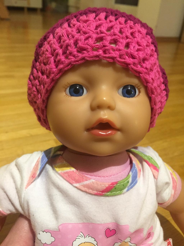 Häkelanleitung Puppen Beanie Schatzenkindde