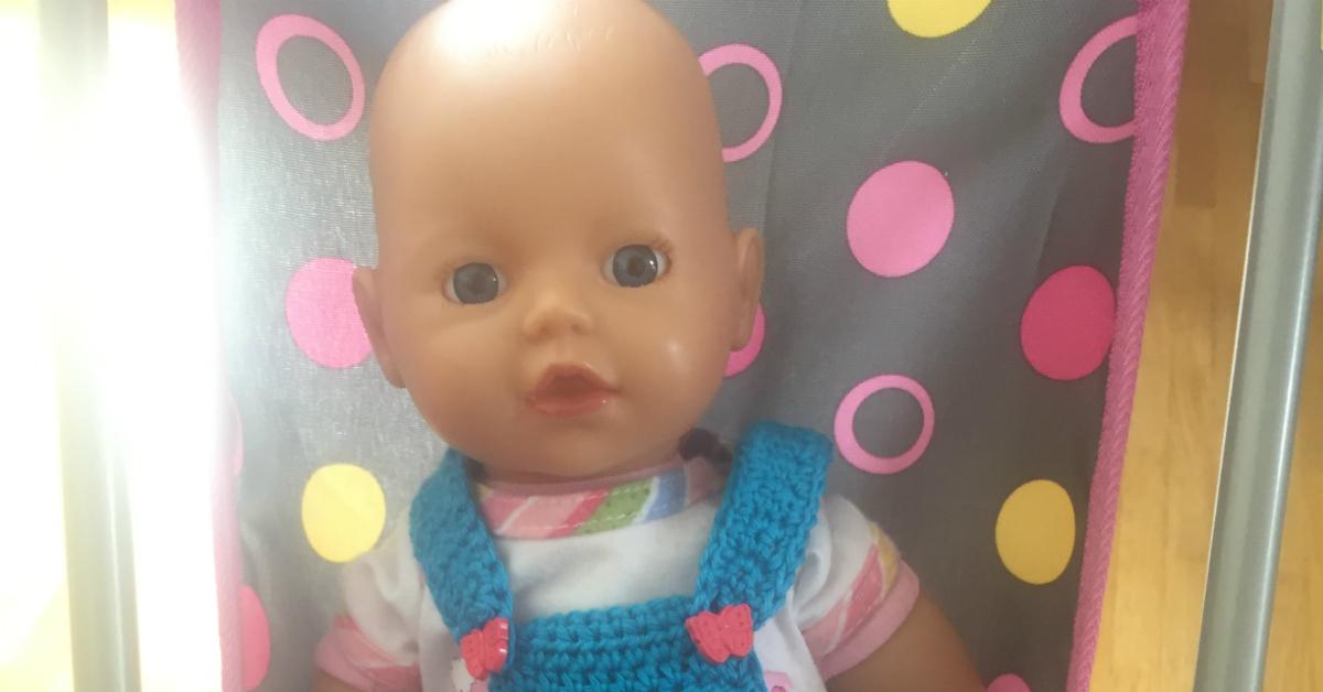 Häkelanleitung Puppen Latzhose Schatzenkindde